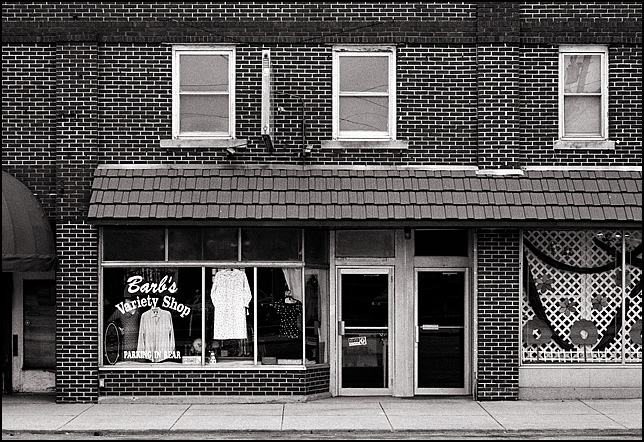 Barbs Variety Shop in the Elzey Building in Waynedale.